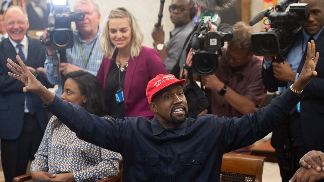kanye west donald trump visit