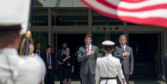 درخواست آمریکا از ژاپن برای پیوستن به ائتلاف دریایی خلیج فارس