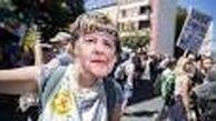 اعتراضات آلمانیها به محدودیتهای کرونایی
