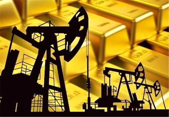 نفت و طلای جهانی افزایشی شدند