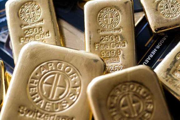 افت قیمت طلای جهانی و استقبال سرمایهگذاران از بازار سهام