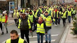 هجدهمین هفته متوالی که جلیقه زردها به خیابان ها آمده اند