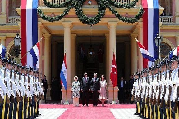 دیدار اردوغان با ا رئیس جمهوری پاراگوئه