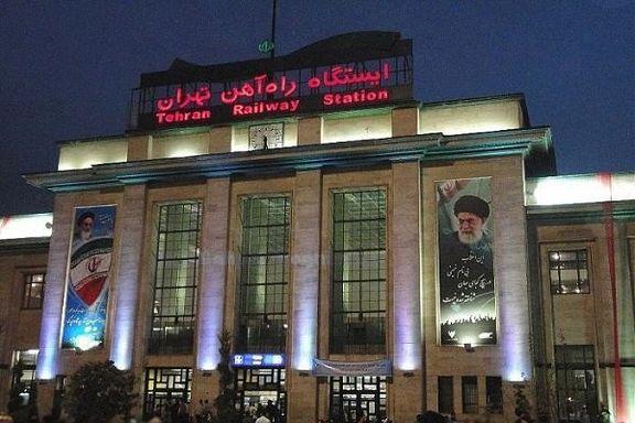 برق ایستگاه راه آهن تهران به دلیل بدهی به وزارت نیرو قطع شد