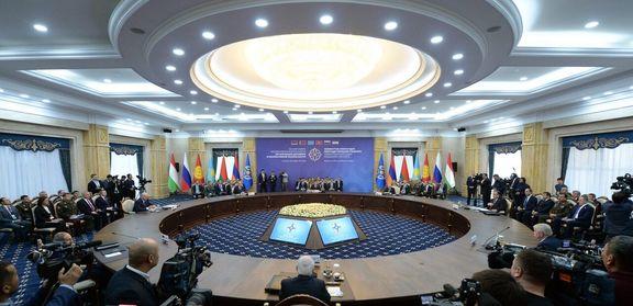 نشست مشترک سران سازمان همکاری شانگهای آغاز شد