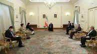 دیدار روحانی و سفیر جدید پاکستان/روحانی خواستار مراقبت از مرز ایران و پاکستان با تمام توان شد