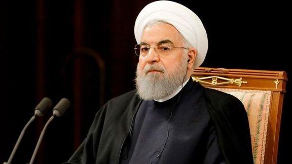 دکتر حسن روحانی برای دیدار با آیت الله سیستانی وارد نجف اشرف شد