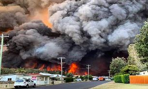 دود آتشسوزی استرالیا در چشم شیلیاییها و آرژانتینیها