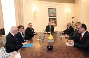 مایک پمپئو با اردوغان دیدار کرد