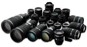 قیمت انواع لنز دوربین  دربازار