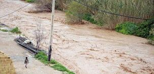 احتمال طغیان رودخانه الوند در سرپل ذهاب وجود دارد