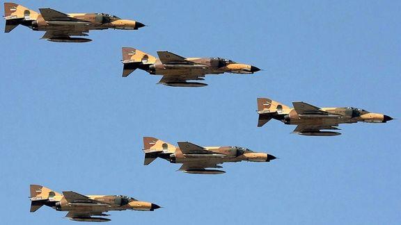 رزمایش اقتدار فدائیان حریم ولایت نیروی هوایی ارتش آغاز شد