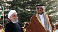گفتوگوی روحانی و شیخ تمیم پشت درهای بسته
