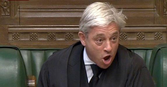 رئیس مجلس عوام انگلیس امروز از سمتش کنار میرود