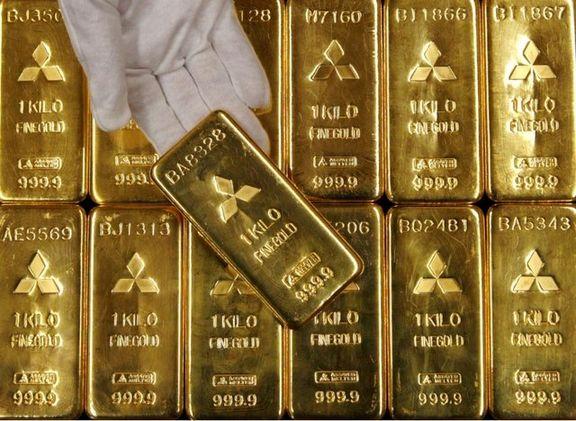 کاهش شدید قیمت طلا در بازار