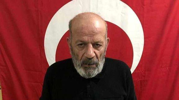 ترکیه داوود باغستانی یکی از اعضای شورای اجرایی پ. ک. ک را دستگیر کرد