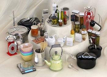 قیمت انواع وسایل آشپز خانه