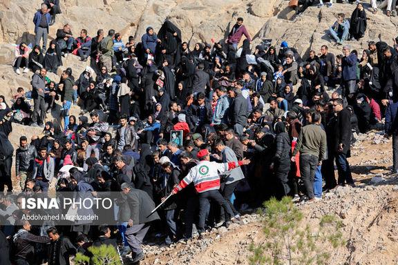 تعداد کشته شدگان حادثه  مراسم تشییع پیکر شهدا در کرمان به 56 نفر رسید
