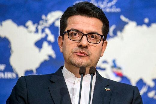توضیحات سخنگوی وزارت خارجه در خصوص رفتار ظریف در مجلس