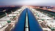 اختلال در پروازهای فرودگاه بین المللی دبی