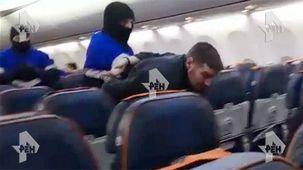 عامل حادثه اقدام به هواپیماربایی  در روسیه دستگیر شد