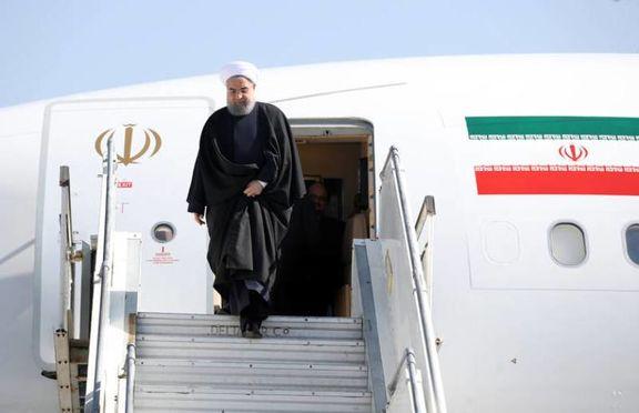رئیس جمهور ایران دقایقی پیش وارد شاهرود شد