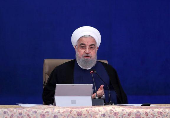 روحانی: شکستن تحریم در سال ۱۴۰۰ در قدمهای آخر است