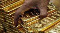صعود قیمت طلا تحت تاثیر کاهش ارزش دلار