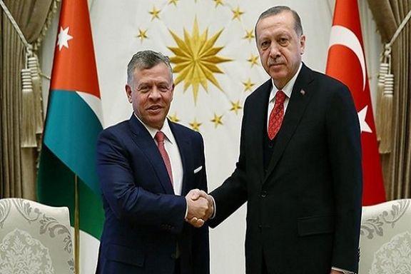 گفتگوی تلفنی اردوغان و پادشاه اردن بر سر حفظ موقعیت قدس