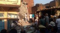 ریزش ساختمانی در ایالت اوتار پرادش هند 10 نفر را به کام مرگ فرستاد