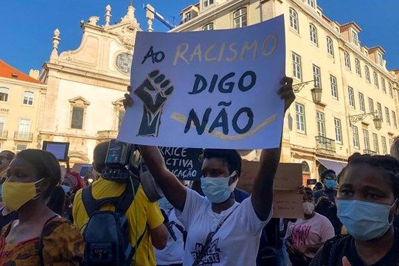 مردم پرتغال در اعتراض به نژادپرستی به خیابان آمدند