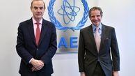 مدیرکل آژانس انرژی اتمی با نماینده اتحادیه اروپا درباره برجام گفتوگو کرد