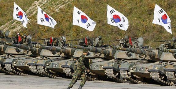 آمادگی ارتش کره جنوبی برای اقدام نظامی علیه کره شمالی