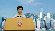 دونالد ترامپ رئیس اجرایی منطقه هنگکنگ را تحریم میکند