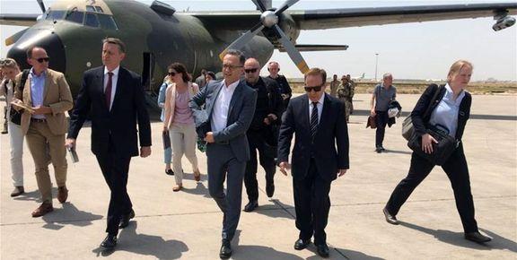 دیدار هایکو ماس با رئیس جمهور عراق