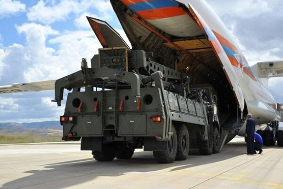 ورود پنجمین محموله سامانه اس-۴۰۰ به ترکیه