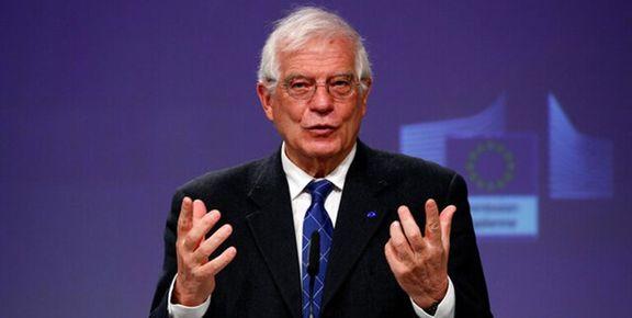 بورل: هم به ایران فشار میآوریم و هم با آنها همکاری میکنیم