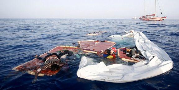 کشته شدن 13 زن مهاجر در پی واژگونی یک قایق + عکس