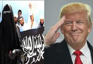ترامپ یک خانواده داعشی  را به آمریکا منتقل کرد