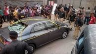 فیلم از حمله حمله به بورس «کراچی» پاکستان