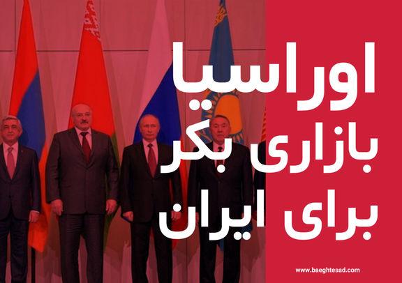 افزایش 63 درصدی صادرات ایران به کشورهای عضو مجمع اقتصادی اوراسیا