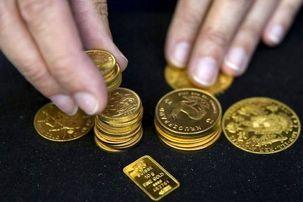 کاهش قیمت سکه و طلا در بازار / هر گرم طلای ۱۸ عیار۴۱۳ هزار و ۸۰۰ تومان
