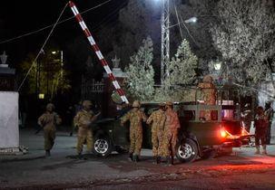 ۶ مقام امنیتی پاکستان در بلوچستان کشته شدند
