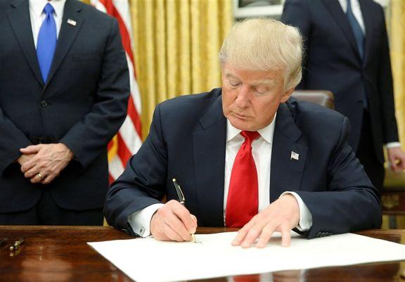 ترامپ فرمان تحریم مداخلهکنندگان در انتخابات را امضا کرد