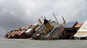 اعزام شناور امدادی به عراق برای یافتن مفقودین کشتی فرق شده در آبهای عراق
