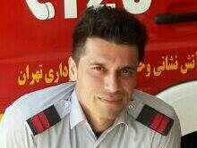 حادثه حریق در محدوده جاده خاوران جان یک آتشنشان تهرانی را گرفت