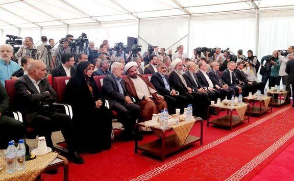 دومین راکتور هسته ای ایران بتن ریزی شد