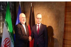 ظریف با وزیر خارجه آلمان دیدار کرد