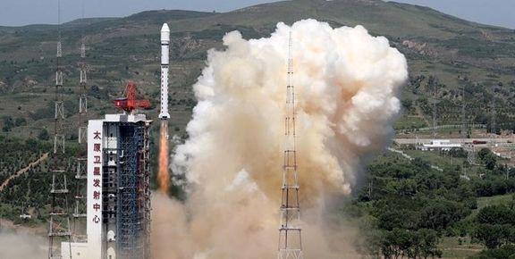 چین ۵ ماهواره به فضا فرستاد