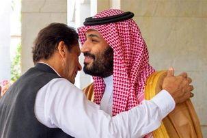 عمران خان  به عربستان رفت